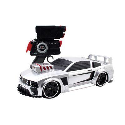 Carrinho de Controle Remoto - Battle Machines - Silver Mustang - Candide