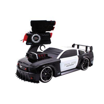 Carrinho de Controle Remoto - Battle Machines - Mustang Police - Candide