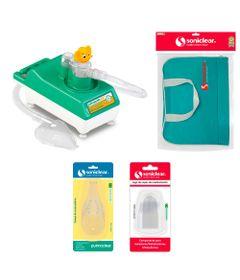 Kit-com-Bolsa-de-Transporte-e-Inalador-Nebulizador-Ultrassonico-Star-com-Acessorios---Soniclear