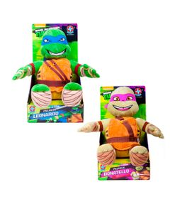 Conjunto-com-2-Pelucias---Tartarugas-Ninja-45-cm---Donatello-e-Leonardo---Estrela