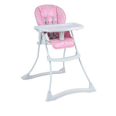 Cadeira de Alimentação - Papa Soneca - Circles Rosa - Burigotto
