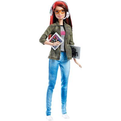 Boneca Barbie - Profissões - Desenvolvedora de Jogos - Mattel