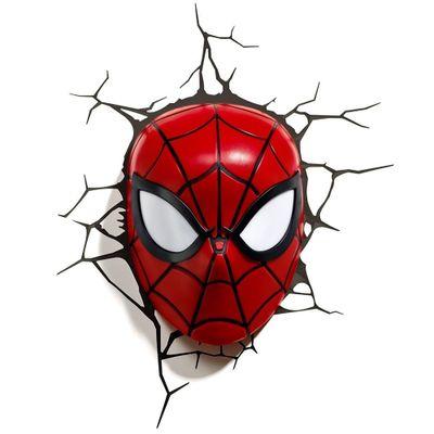 Luminária de Parede - 3D - Disney - Marvel - Avengers - Homem Aranha - Beek Geeks