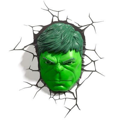 Luminária de Parede - 3D - Disney - Marvel - Avengers - Hulk - Beek Geeks