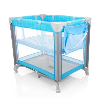 Berço Portátil - Mini Play Pop - Blue - Safety 1st