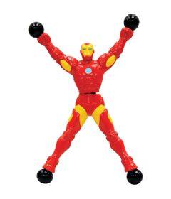 100126687-Boneco-Pegajoso---Marvel---Stick-Heroes---Iron-Man---Candide