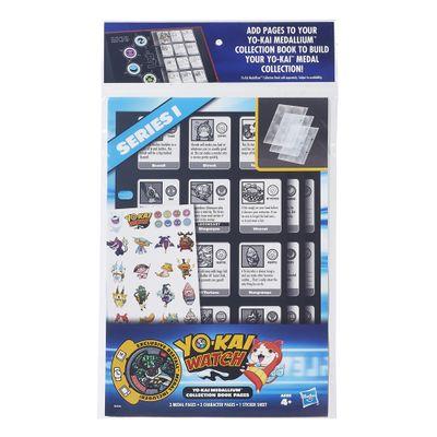 Conjunto Refil - Páginas de Coleção - Yo-kai - Hasbro