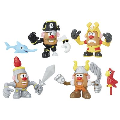 Figura Mashup Playskool - Mr. Potato Head - Guerreiros - Hasbro