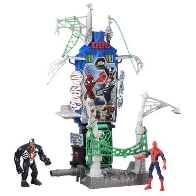 Playset Web City - Homem Aranha - Marvel - Hasbro