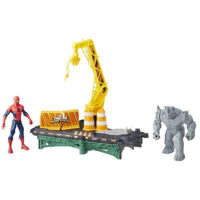 plaset-web-city-rhino-homem-aranha-marvel-hasbro