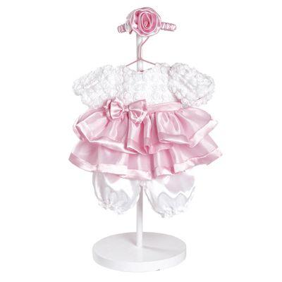 Roupa para Bonecas - Adora Doll - Vestido Branco e Rosa Sweet Sunday - Shiny Toys