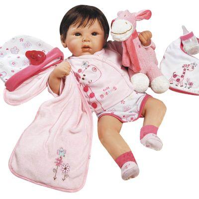 Boneca Bebê com Acessórios - Reborn Happy - Tall Dreams - Shiny Toys