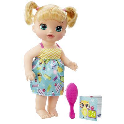 Boneca Baby Alive - Escolinha - Loira - Hasbro