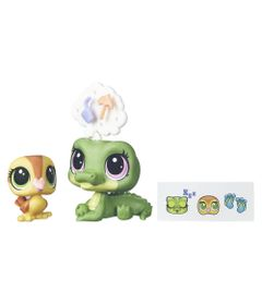 Mini-Bonecas-Littlest-Pet-Shop---Alia-lagarto-e-Dabble-Von-Quack---Hasbro