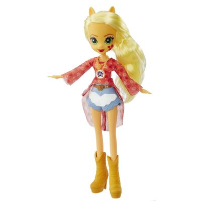 Boneca Equestria Girls - My Little Pony - Legend of Everfree - Applejack - Hasbro