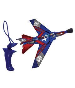 100120092-Aviao-com-Mini-Estilingue---Marvel---Avengers---Hero-Planes---Capitao-America---Candide