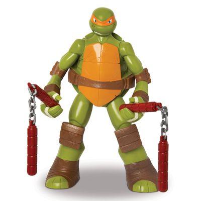 Boneco com Acessórios - As Tartarugas Ninja - Michelangelo - Mimo