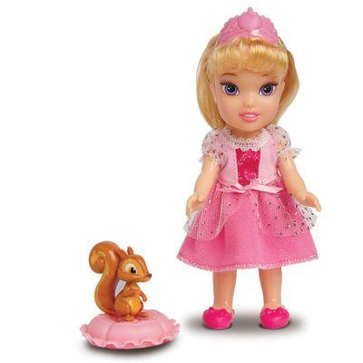 Boneca com Acessórios - Disney Princesas - Princesa Aurora e Pet - Mimo