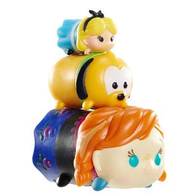 Conjunto Tsum Tsum 3 Figuras - Disney - Alice, Pluto e Anna - Estrela