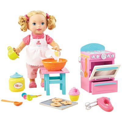 Boneca Little Mommy - Pequena Chef - Mexe os Bracinhos - Mattel