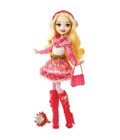Boneca-Fashion---Ever-After-High---Feitico-de-Inverno---Apple-White---Mattel