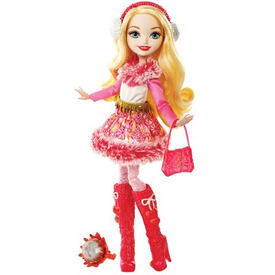 Boneca Fashion - Ever After High - Feitiço de Inverno - Apple White - Mattel
