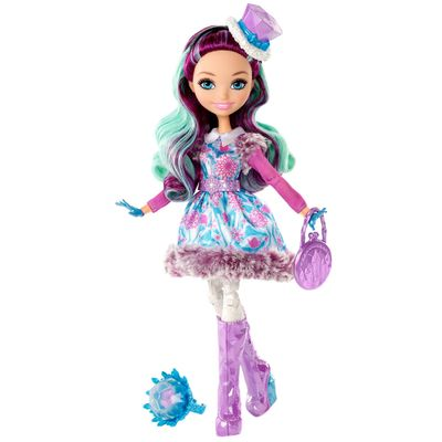 Boneca Fashion - Ever After High - Feitiço de Inverno - Madeline Hatter - Mattel