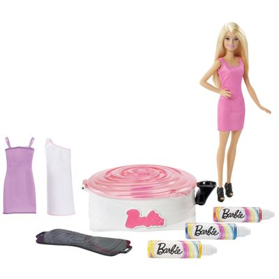 Boneca Barbie - Fashion Conjunto Giro e Design - Mattel