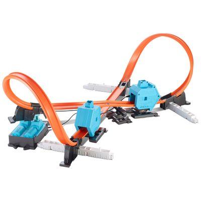 Track Builder Duplo Lançador - Hot Wheels - Mattel