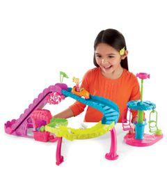 Playset-Polly-Pocket-Parque-de-Diversoes---Montanha-Russa---Mattel