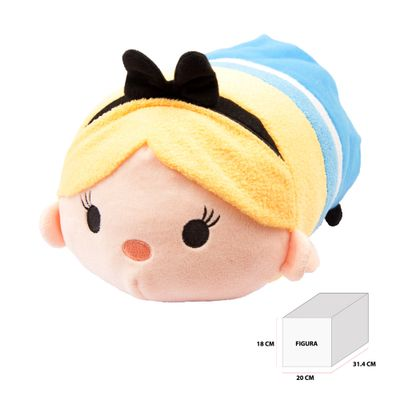 Pelúcia Tsum Tsum 30 cm - Disney - Alice - Estrela - Pelúcia Tsum Tsum - Disney - Alice - Estrela