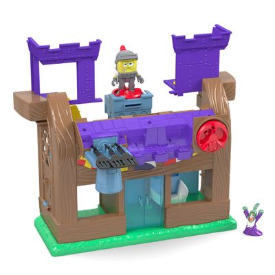 Playset Castelo Siri Cascudo Bob Esponja - Imaginext - Fisher-Price