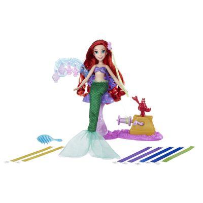 Boneca Princesas Disney - Cabelos Mágicos - Ariel - Hasbro