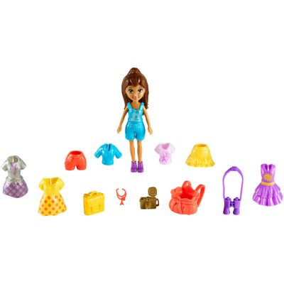 Kit Polly Pocket - Amigas Super Fashion - Mattel