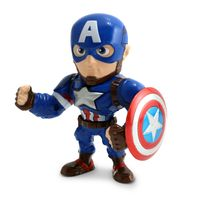 Figura-Colecionavel-10-Cm---Metals---Marvel---Civil-War---Capitao-America---DTC