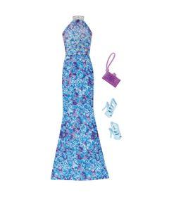 Roupinha-para-Bonecas-Barbie---Vestido-de-Gala-Azul---Mattel