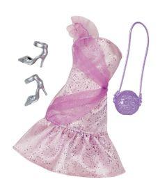 Roupinha-para-Bonecas-Barbie---Vestido-de-Gala-Lilas---Mattel
