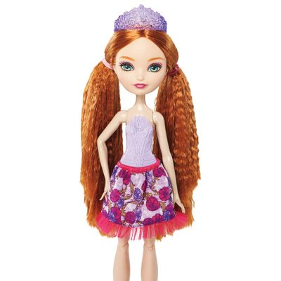 Boneca - Holly O'Hair - Penteados Mágicos - Ever After High - Mattel - Boneca - Holly O'Hair Penteados Mágicos - Ever After High - Mattel