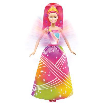 Boneca Barbie - Princesa Luzes Arco-Íris - Mattel