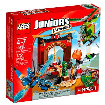 10725 - LEGO Juniors - NINJAGO O Templo Perdido