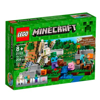 21123 - LEGO Minecraft - Conjunto Golen de Ferro
