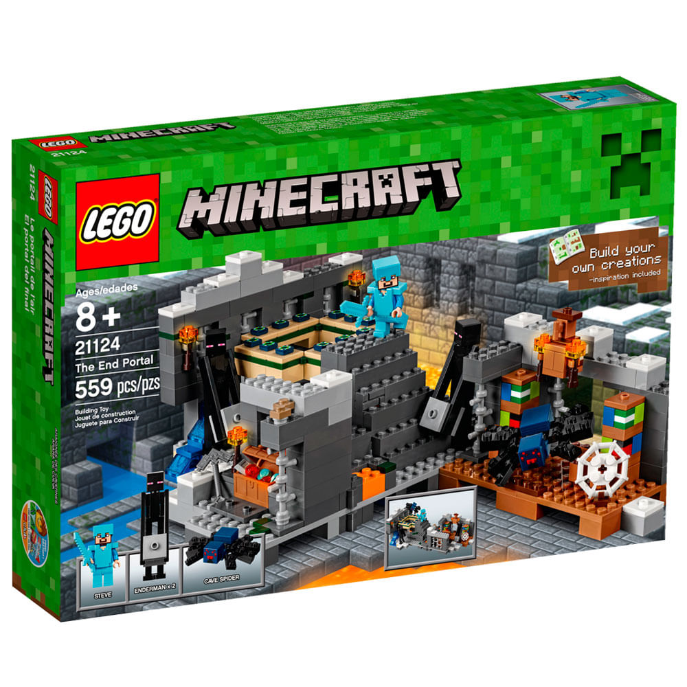 21124 - LEGO Minecraft - Conjunto Portal do Fim