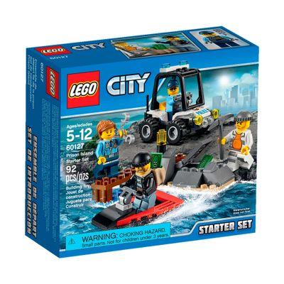 60127 - LEGO City - Starter Set - Ilha Prisão