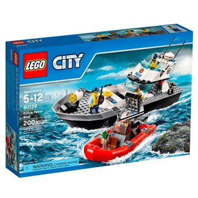 60129 - LEGO City - Barco Patrulha da Polícia