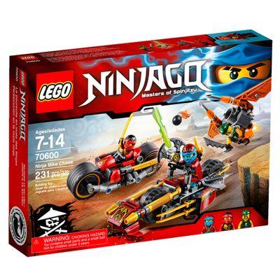 70600 - LEGO Ninjago - Masters Of Spinjitzu - Perseguição Moto Ninja