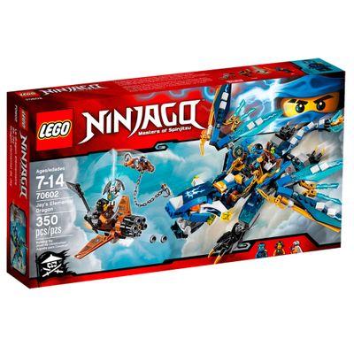 70602 - LEGO Ninjago - Masters Of Spinjitzu - Dragão Elemental do Jay
