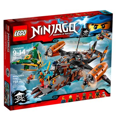 70605 - LEGO Ninjago - Masters Of Spinjitzu - Nave Fortuna do Infortuno