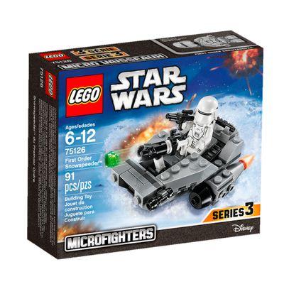 75126 - LEGO Star Wars - Disney - Snowpeeder da Primeira Ordem # rihappy