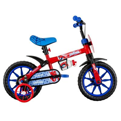Bicicleta ARO 12 - Marvel - Spider-Man - Caloi