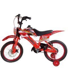 Bicicleta-ARO-16---Bike-Moto---Vermelha---Uni-Toys